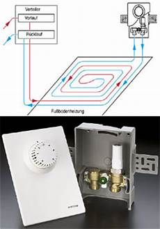fußbodenheizung regelung vorlauftemperatur armaturen zur regelung einzelner fu 223 bodenheizkreise