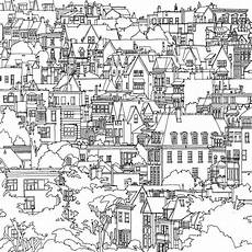 adult coloring book cities highly detailed coloring book for adults features famous