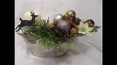 diy edle festliche weihnachts deko selber machen