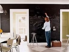 dry erase diy slate black paint for full wall chalk