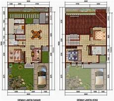 Desain Rumah Ukuran 8x15 2 Lantai Berbagai Ukuran