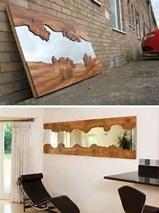 Wohnideen Aus Holz - die besten 25 spiegel mit holzrahmen ideen auf