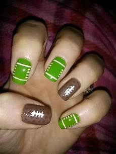 25 cool football nail art designs hative