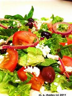 cooking the amazing greek salad with greek dressing