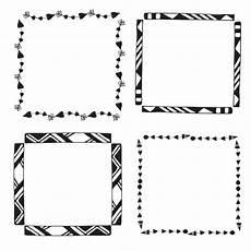 cornici geometriche cornici geometriche disegnate a mano scaricare vettori