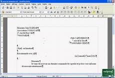 mise en page word libroffice writer 233 crire une lettre 05 taper et