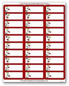 printable holiday address labels foil string of lights ebay