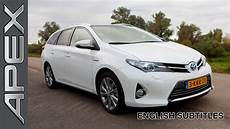 Toyota Auris Ts Hybrid Review Subtitles