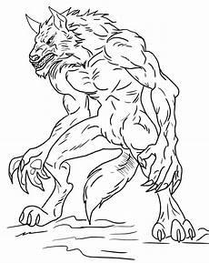 Gratis Malvorlagen Werwolf Printable Coloring Pages Get Coloring Pages