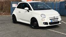 fiat 500 s with satin black wheels for sale at sussex used