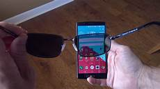 the effects of polarized sunglasses on smartphones