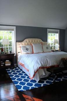 sherwin williams paint lazy gray on top and sherwin williams serious gray on the walls lazy gray on