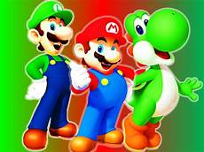 Malvorlagen Mario Und Yoshi Erscheinungsdatum Mario Luigi And Yoshi Wallpaper By 9029561 On Deviantart