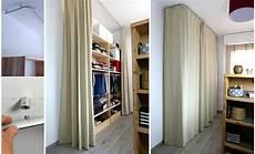 installer un dressing derri 232 re un rideau dans une