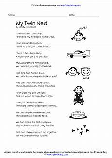 grammar worksheets for dyslexic students 24758 free worksheets reading and spelling speech to spelling method