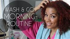 wash go morning routine for curly hair youtube
