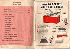 vac u form instructions page 2 of 12