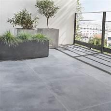 carrelage terrasse exterieur moderne carrelage sol noir effet dolce vita l 60 x l 60 cm
