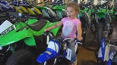 time dirt bike shopping for the family