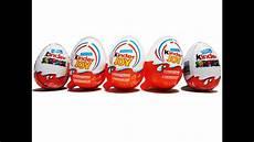 5 Kinder Kinder Eggs Monsters Inc Wars