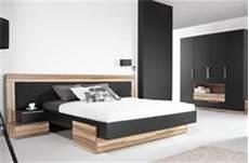 chambre pour adulte moderne lit adulte design black avec matelas en promotion