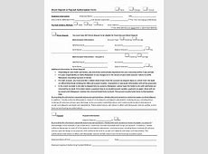 free printable direct deposit forms