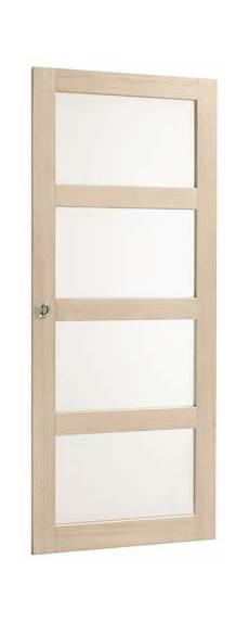 porte interieur brico depot porte coulissante 2 volets beloya h 195 x l 142 5 cm verre