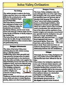 civilization worksheets 19308 the indus valley civilization by teachers pay teachers