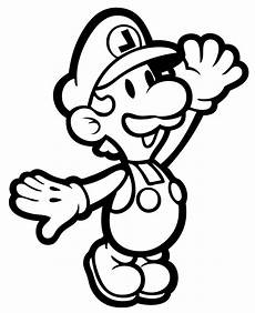 paper bowser coloring pages 17646 printable luigi coloring pages free large images craft ideas more embroidery ideas