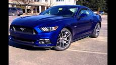 2016 ford mustang gt deep impact blue youtube