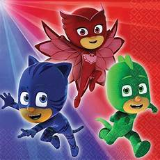 Pj Mask Malvorlagen Gratis Pj Masks Birthday Supplies Theme Packs