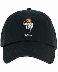 polo ralph printed cap polo black hos