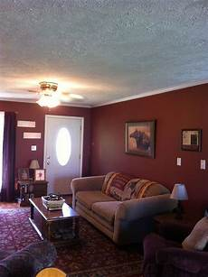 maroon walls paint rustic for the home pinterest