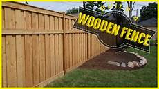 holzzaun selber bauen how to build a wood fence do it yourself