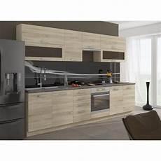 prix cuisine complete lassen cuisine compl 232 te l 260 cm d 233 cor ch 234 ne clair sonoma achat vente cuisine compl 232 te