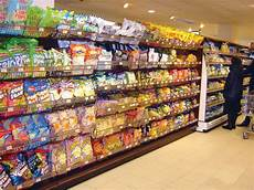 grocery store fixtures and shelving