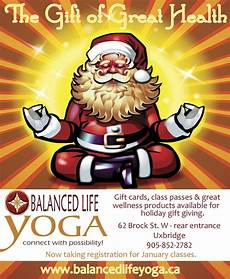 ad for yoga studio for christmas yoga christmas christmas greetings christmas greeting cards