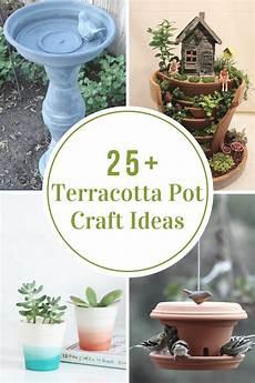 Terracotta Home Decor Ideas by Terracotta Pot Craft Ideas The Idea Room