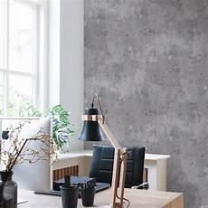 wand grau moderne beton steinwand vliestapete in grau 68653