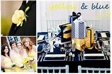 wedding inspiration yellow and blue thoughtfully simple