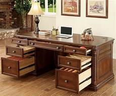 oak office furniture for the home vicki dark oak home office set from furniture of america