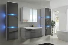 Badezimmermöbel Grau Hochglanz - kaufexpert badm 246 bel set new grau hochglanz wei 223