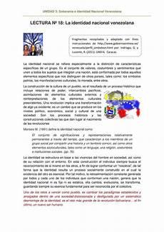 mapa mental sobre la identidad nacional venezolana calam 233 o la identidad nacional venezolana