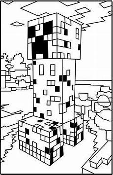 Tier Malvorlagen Minecraft Ausmalbilder Minecraft 01 Minecraft Minecraft