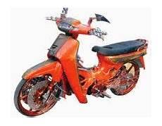 Honda Kirana Modif by Modifikasi Motor Honda Kirana Til Unik Tropie