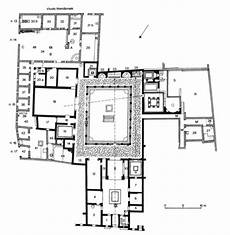 plan of a pompeian house pin on pompeii