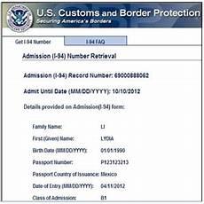 form i 94 us immigration forms