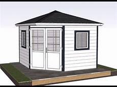 Gartenhaus Aus Kunststoff - romahaus aufbau f 252 nfeck gartenhaus valencia kunststoff