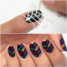 what are the different nail art techniques sparkly