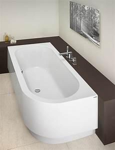Freistehende Badewanne Einbauen - hoesch badewannen bathtub happy d